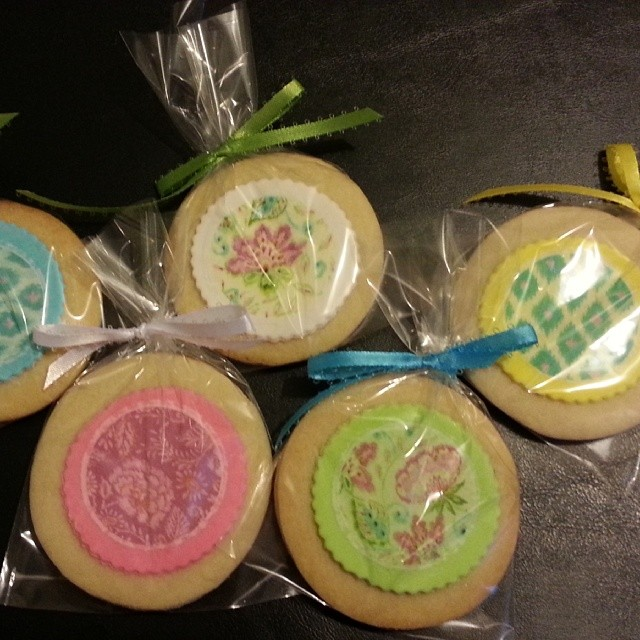 Edible Image Mother's Day Cookies