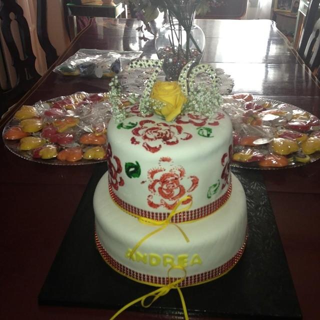 Stamped Cake