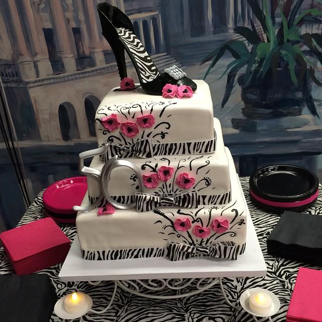 Pretty Shoe Cake