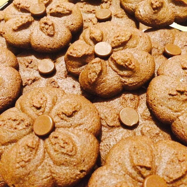Petits Fours Au Chocolat (Chocolate Butter Cookies)