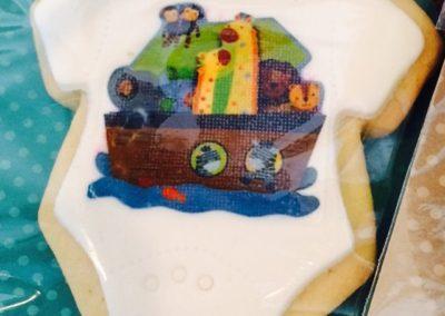Noah's Ark Favor Cookies