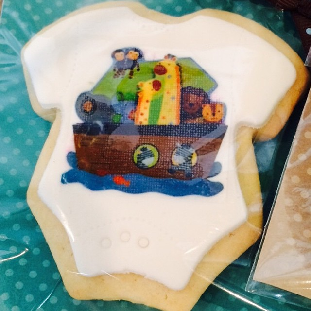 Noah's Ark Favor Cookies