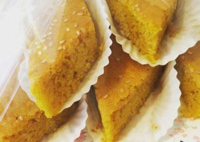 Sfouf (Cake With Turmeric)