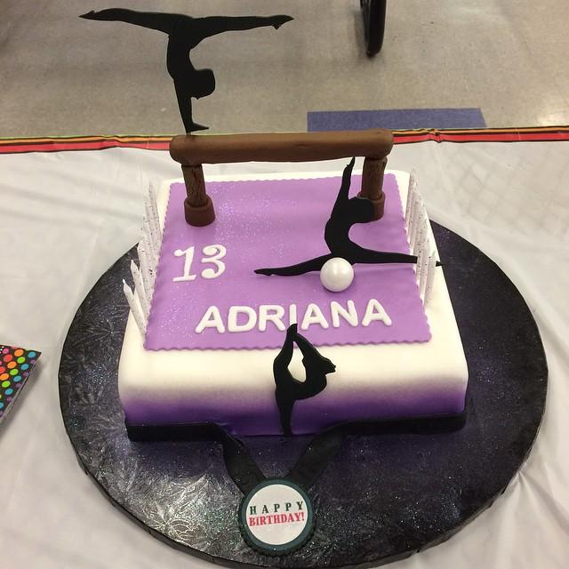Gymnasts Cake