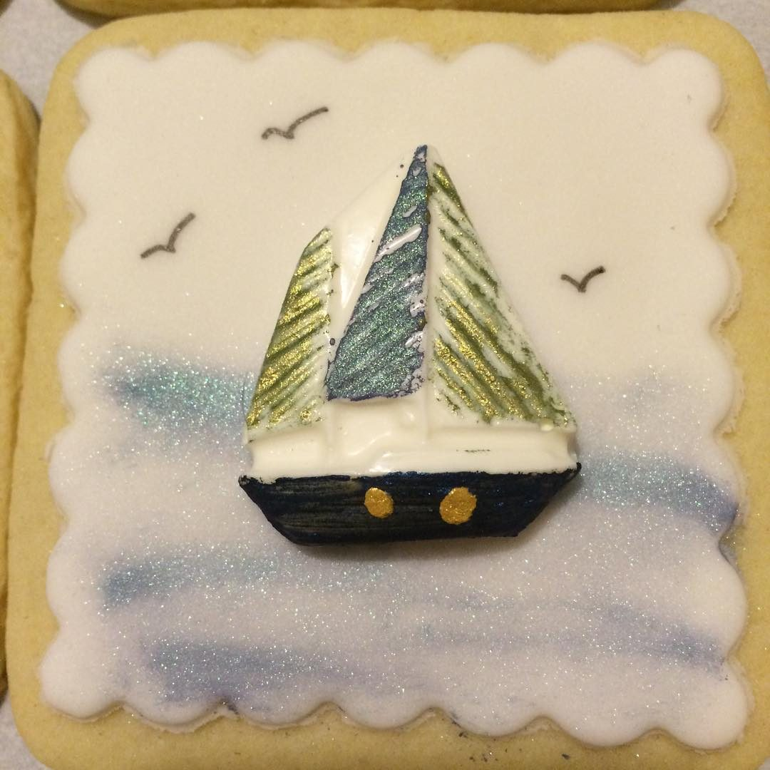 Sailboat Cookies