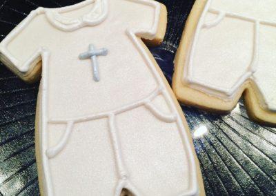 Christening cookies