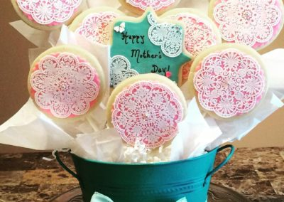 Mother's Day Cookie Basket