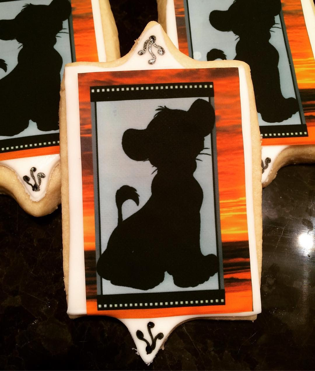 Lion King Cookies