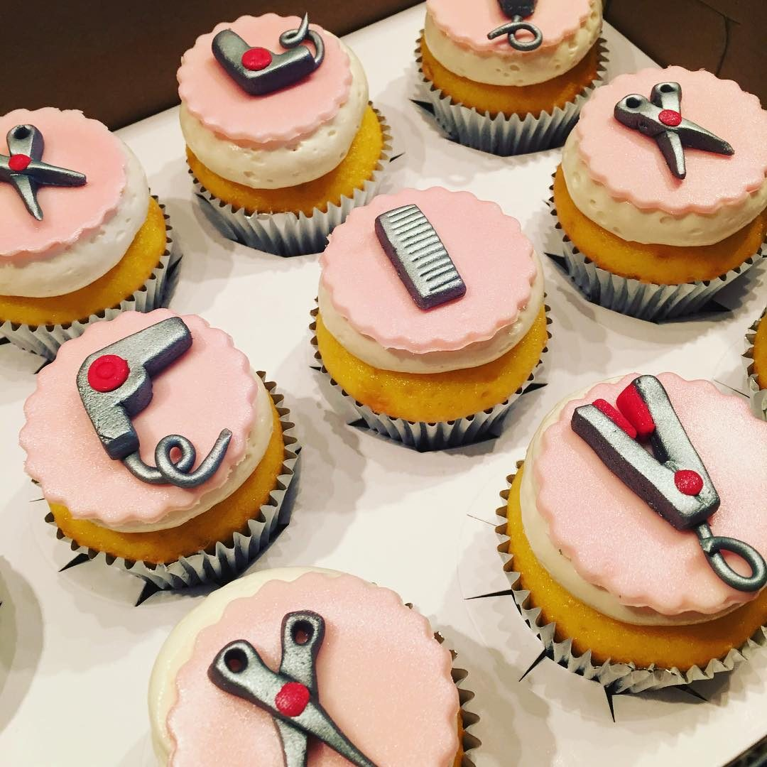 Hair Salon Cupcakes