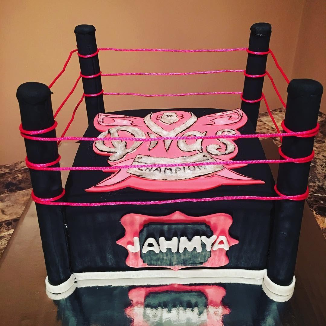 Wrestling Divas Cake