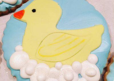 Rubber Ducky Favor Cookies