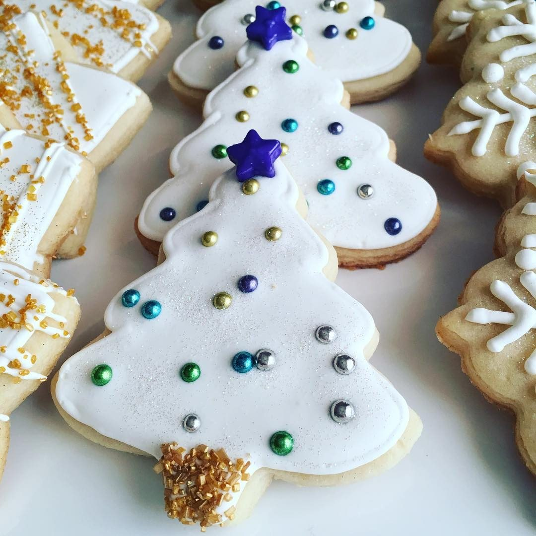 Christmas Tree cookies