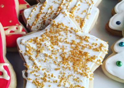 Golden Star Cookies