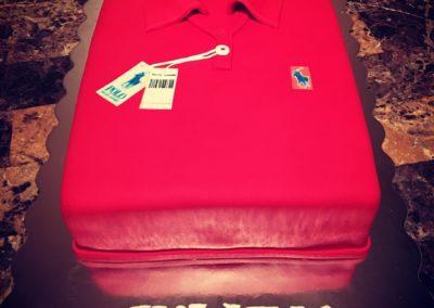 Polo Shirt Cakes
