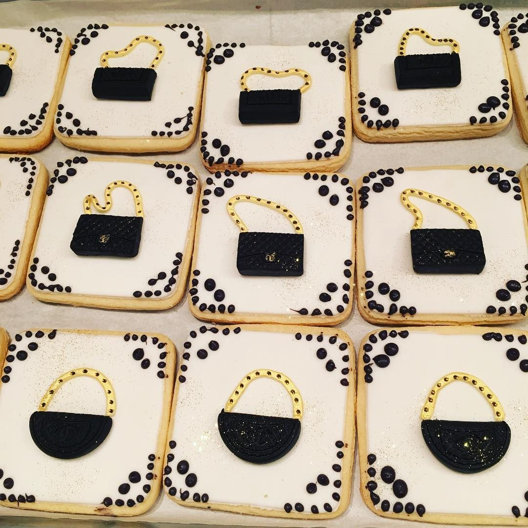 Coco Chanel Cookie Favors