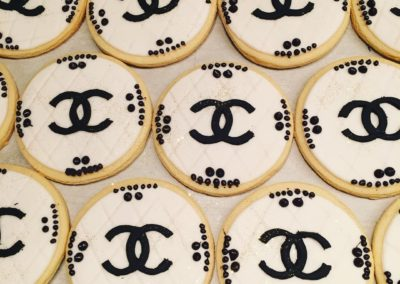 Coco Chanel Favor Cookies