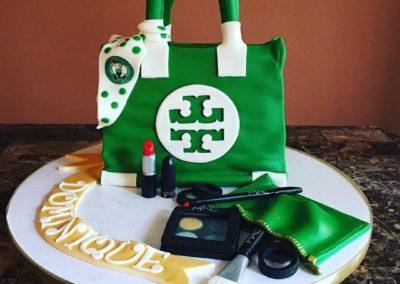 Tori Burch Purse Cake