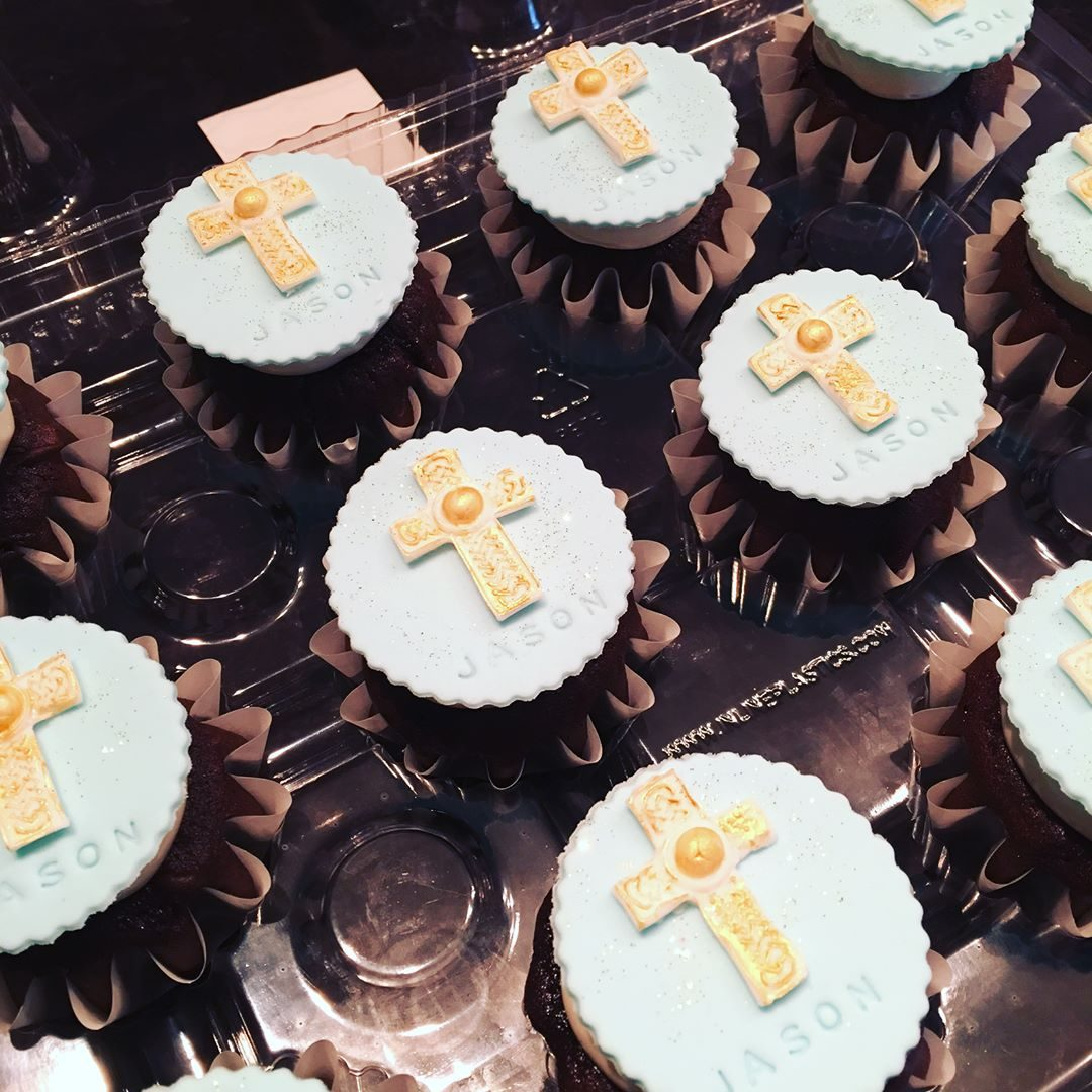 First Communion Cupcakes