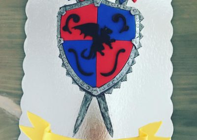 Sword And Shield Cake