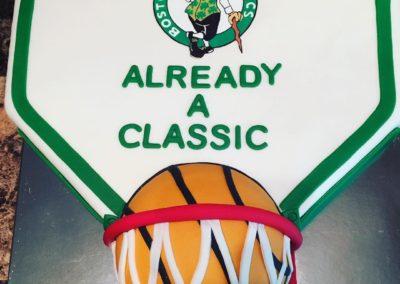 Celtics Birthday Cake