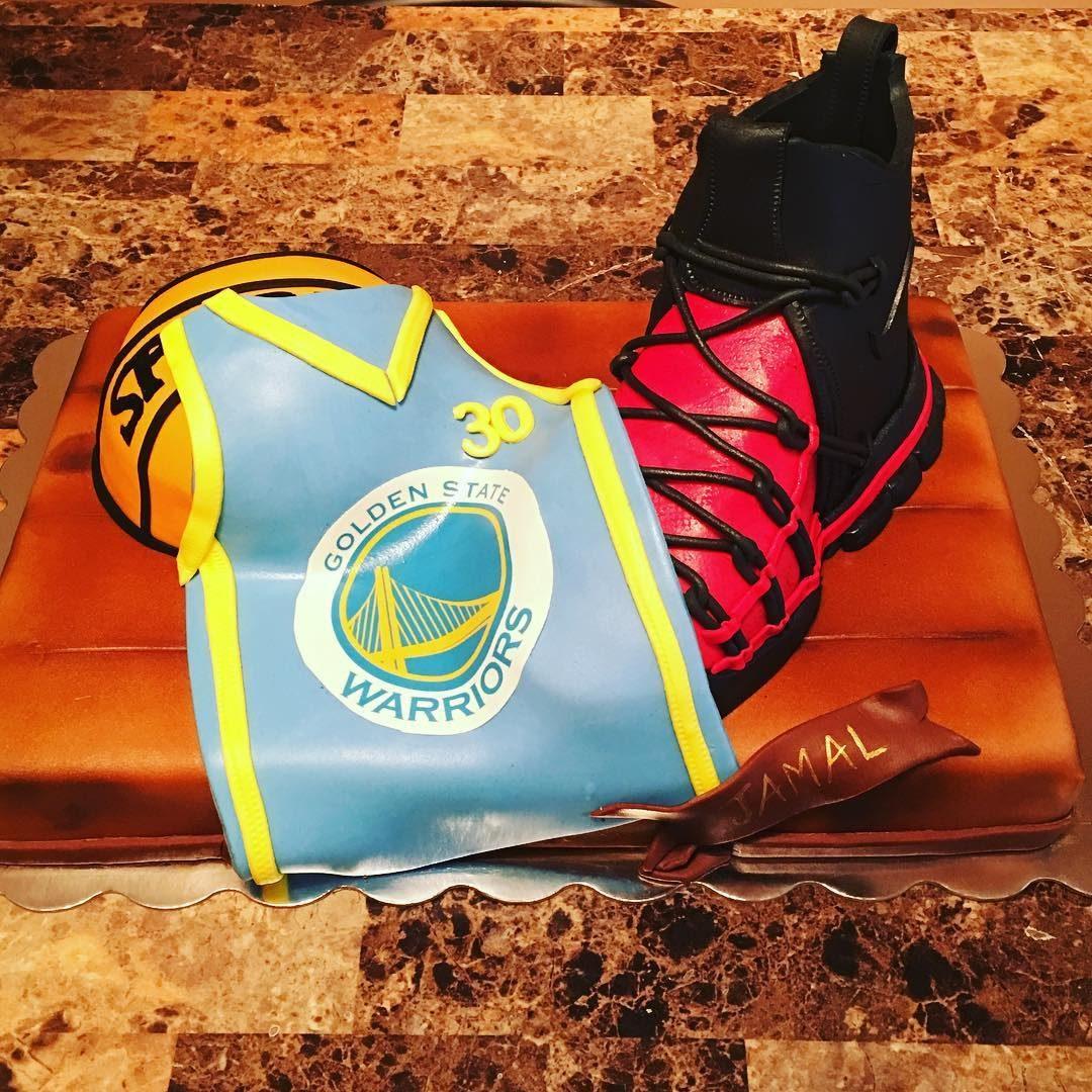 Jordans And Basketball Cake