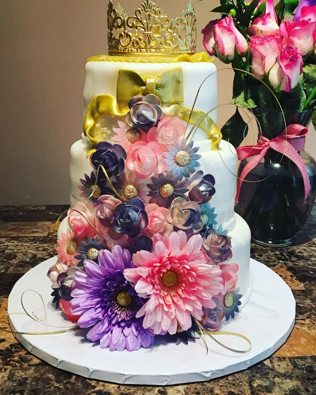 Fancy Nancy Princess Cake