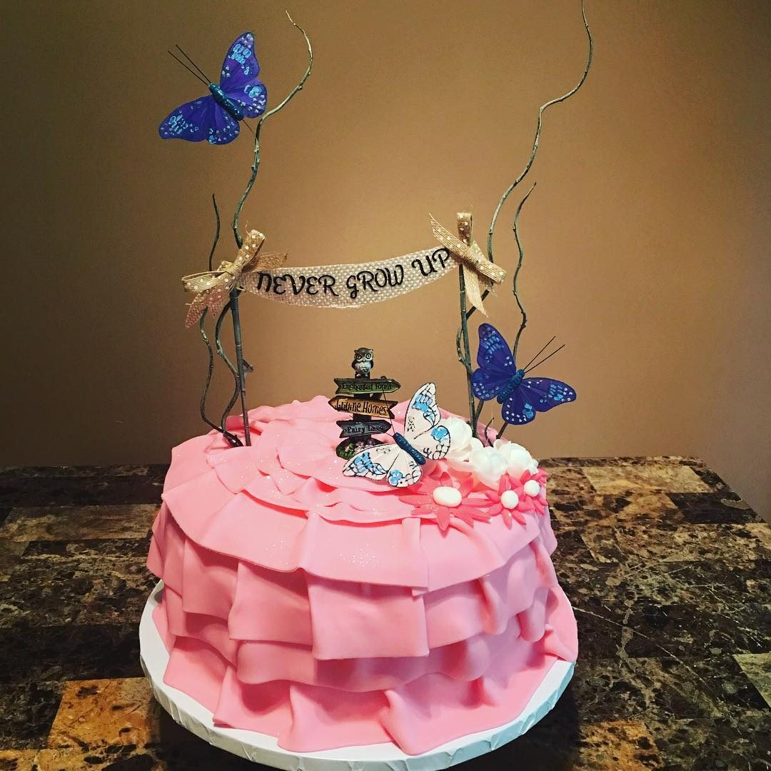 Enchanted Garden Cake