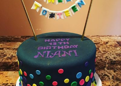 Tween To Teen Birthday Cake