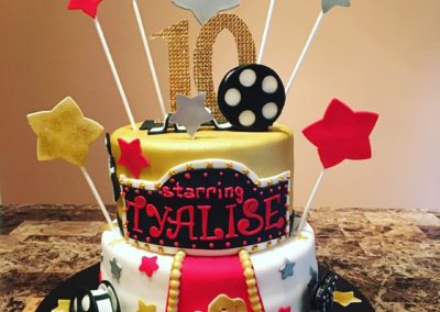 Hollywood Action Cake