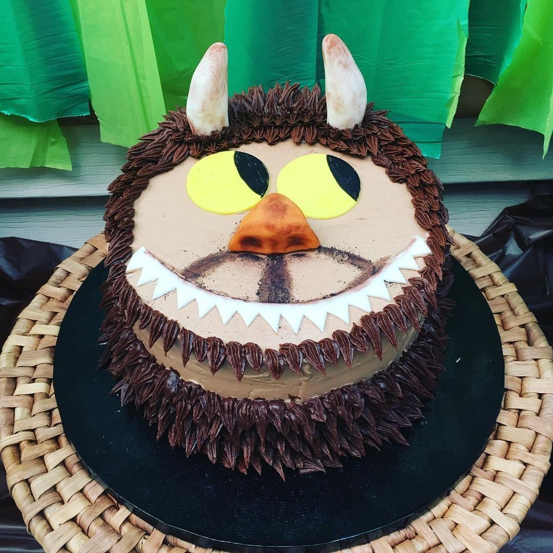 Wild Things Monster Cake