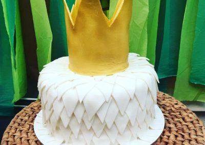 Wild Things Crown Cake