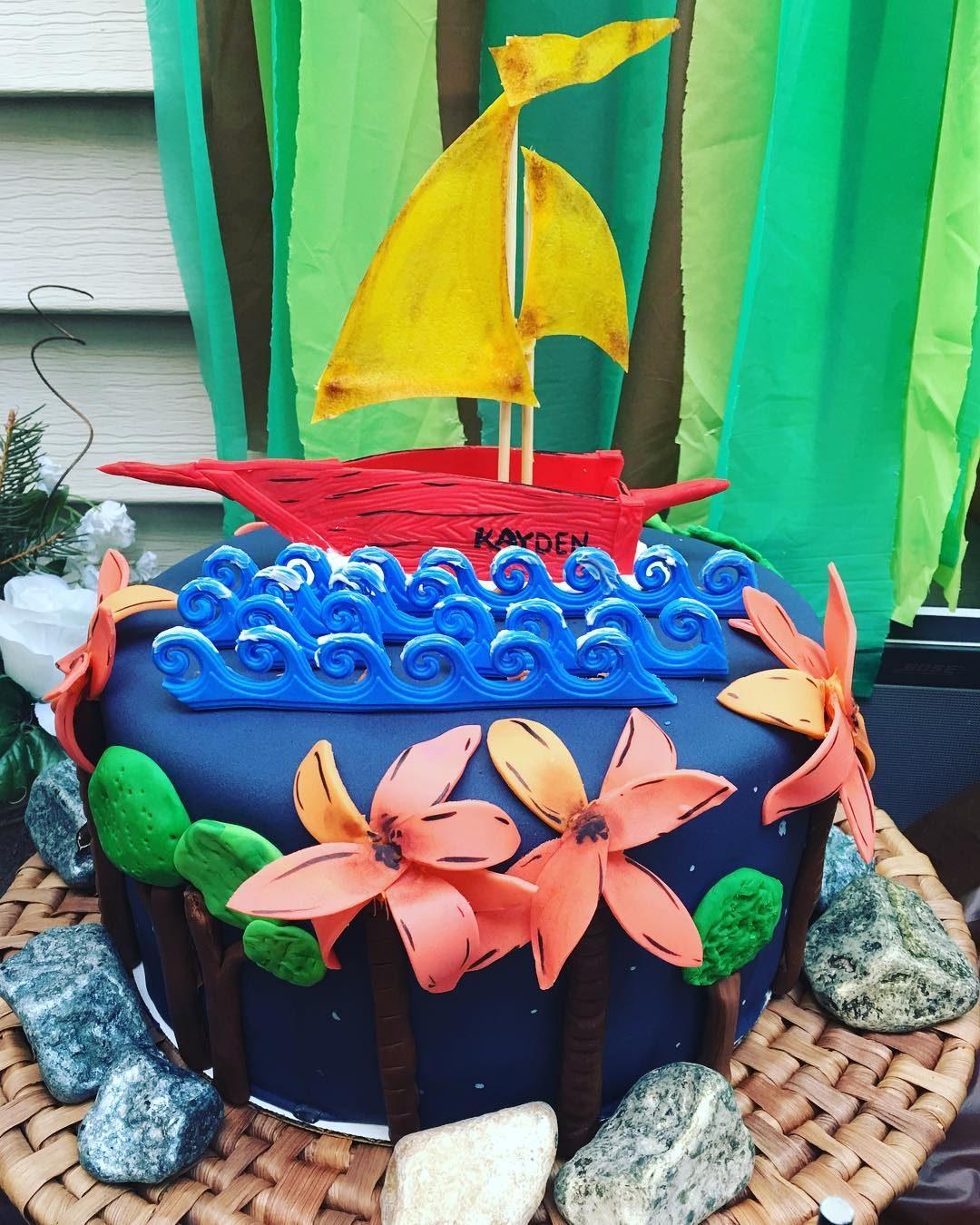 Wild Things Sailboat Cake