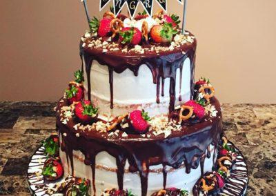Tiered Drip Cake