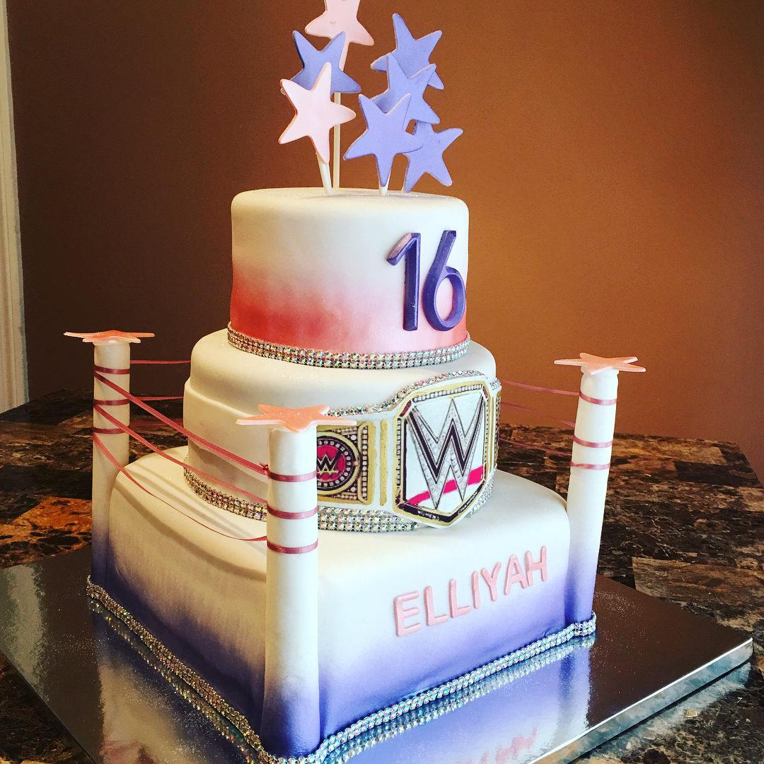 WWE Sweet 16 Cake