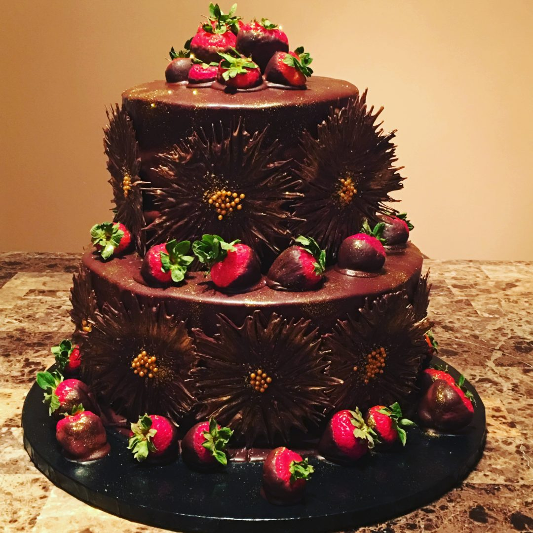 Chocolate Burst Cake