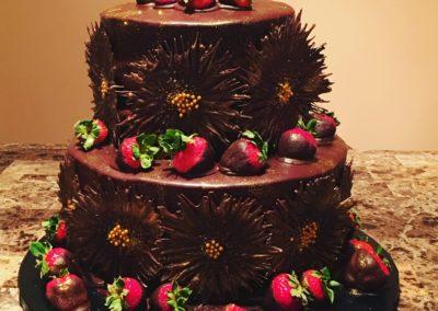 Chocolate Burst Cake